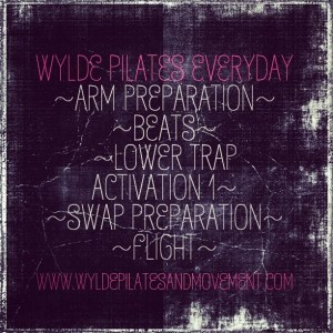 Wylde Pilates Everyday List #6