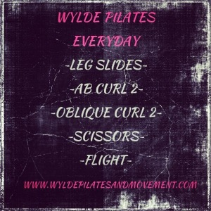 Pilates Everyday List #7