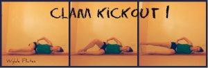 Clam Kickout: gluteus medius