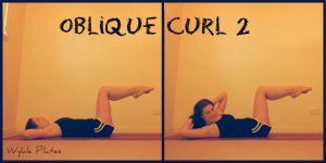 Oblique Curl #2: challenge all the abs, particularly the obliques
