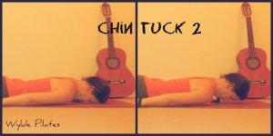 CHIN TUCK: prone