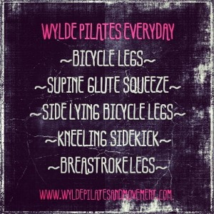 Pilates Everyday List #9
