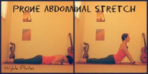 ABDOMINAL STRETCH: prone