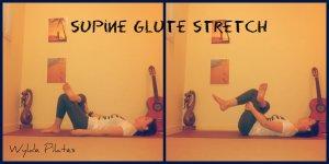 SUPINE GLUTE STRETCH
